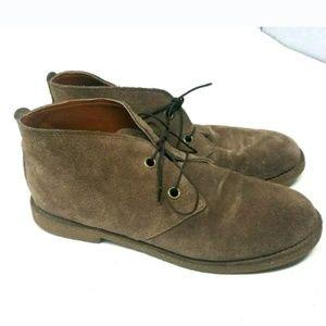 Lucky Brand Brown Chukka Boots 1234